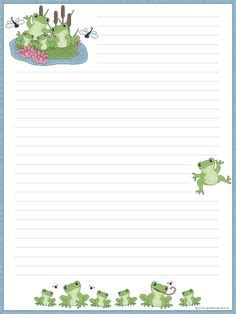 Primary writing journal paper